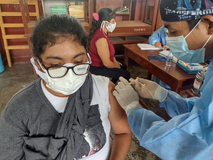 Un total de 44,808 personas fueron vacunadas contra el Covid-19 en San Martín