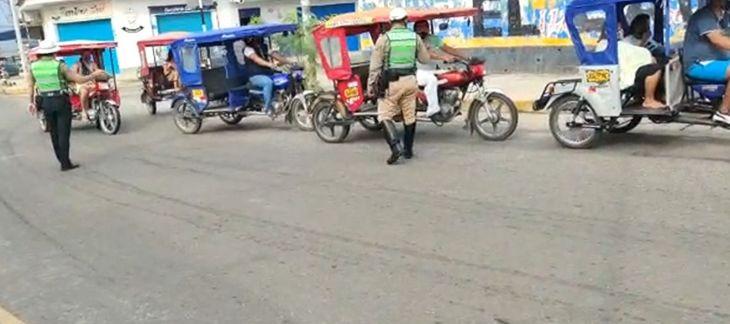 MPSM y PNP intervienen a conductores cuyos vehículos generan ruidos molestos en Tarapoto