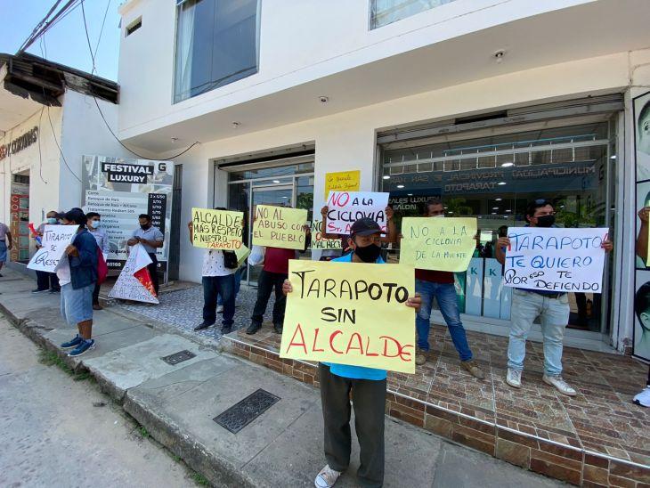 Frecides San Martín anuncia paro de 24 horas para el 14 de setiembre en contra la ciclovía y en contra del alza de las tarifas de agua y luz