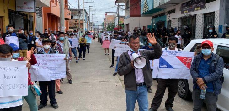 Pueblos del Bajo Huallaga ratifican inicio de huelga indefinida a partir del próximo miércoles 20 de octubre